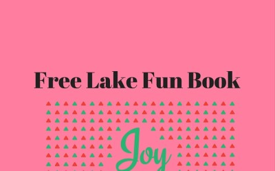 Free Lake Fun Book Giveaway