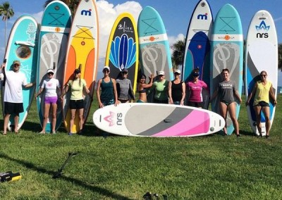 Paddleboard class and Sup Yoga with Lake Fun