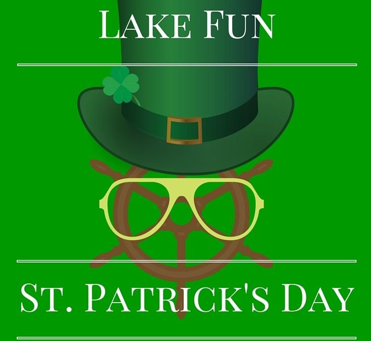 St. Patrick's Day Lake Fun