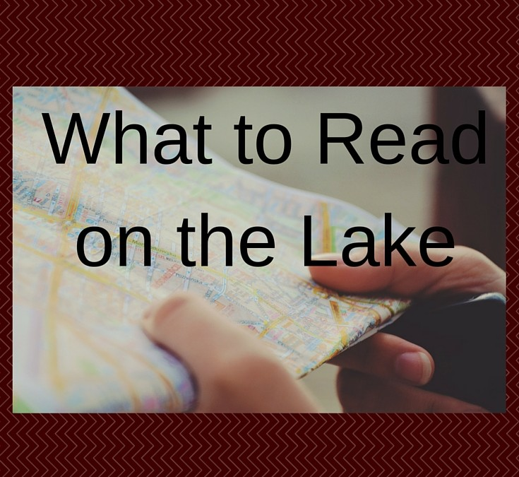 Top books, lake books, books about the lake, lake maps