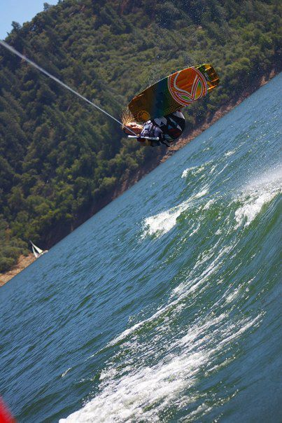 Pro wakeboarder Charles Whyte