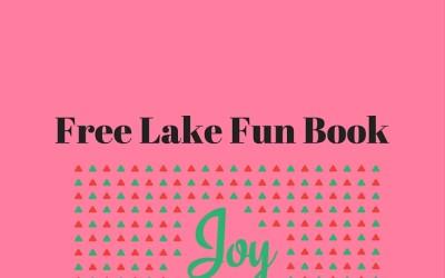 Free Lake Fun Book Giveaway